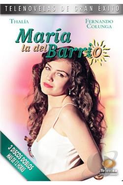 Maria la del Barrio DVD Cover Art