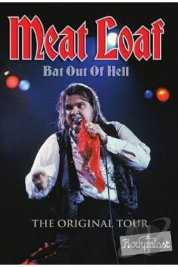 Meat Loaf: Bat out of Hell - The Original Tour DVD Cover Art