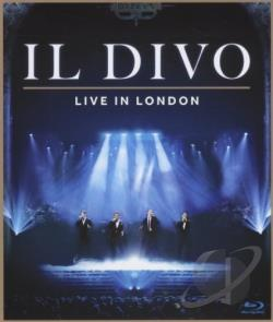Il Divo: Live in London BRAY Cover Art
