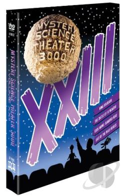 Mystery Science Theater 3000: XXIII DVD Cover Art