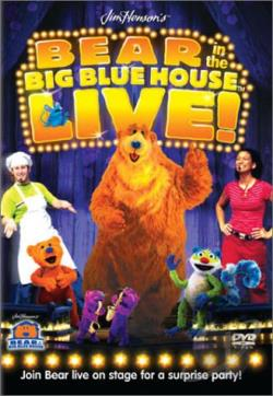 Bear In The Big Blue House Live! DVD Cover Art