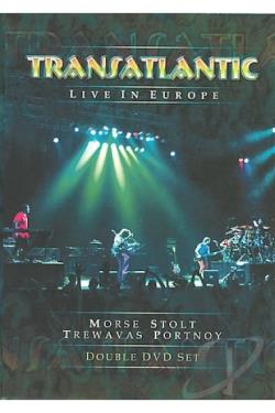Transatlantic - Live In Europe DVD Cover Art