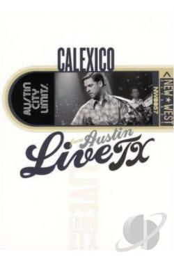 Calexico - Live from Austin Texas DVD Cover Art