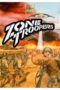 Zone Troopers DVD Cover Art