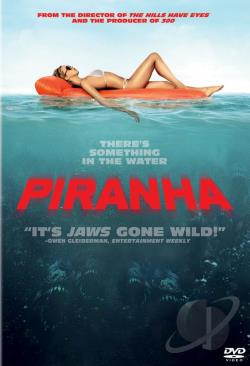 Piranha DVD Cover Art