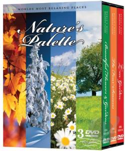 Nature's Palette DVD Cover Art