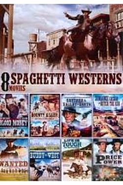 Spaghetti Westerns: 8 Movies DVD Cover Art
