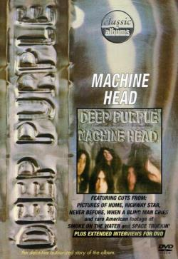 Deep Purple - Machine Head DVD Cover Art
