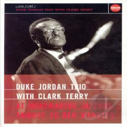 Duke Jordan Trio With Clark Terry: At Montmartre Jazzhus Tribute to Ben Webster DVD Cover Art