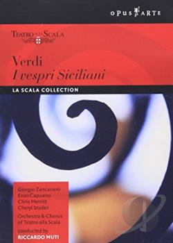 Verdi - I Vespri Siciliani DVD Cover Art
