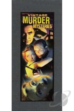 Vintage Murder Mysteries DVD Cover Art
