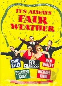 It's Always Fair Weather DVD Cover Art