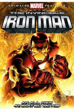 Invincible Iron Man DVD Cover Art