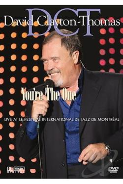 David Clayton-Thomas - You're the One DVD Cover Art