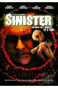 Sinister DVD Cover Art