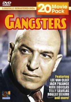 Gangsters - 20 Movie Pack DVD Cover Art