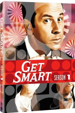 Get Smart - The Complete First Season DVD Cover Art