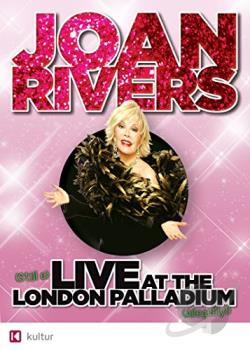 Joan Rivers - Live At The London Palladium DVD Cover Art