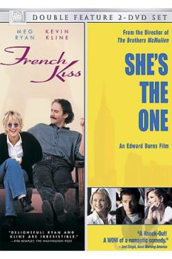 French Kiss/She's The One DVD Cover Art