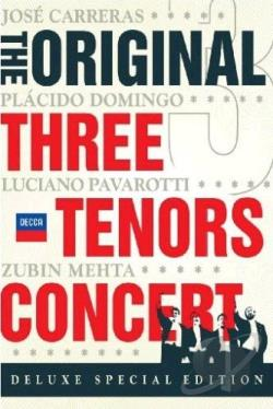 Three Tenors DVD Cover Art