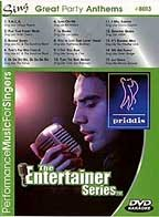 Karaoke - Great Party Anthems DVD Cover Art