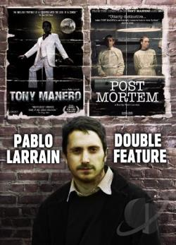 Pablo Larrin Double Feature: Tony Manero/Post Mortem DVD Cover Art