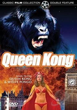 Queen Kong/White Pongo DVD Cover Art