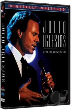 Julio Iglesias - Live In Jerusalem DVD Cover Art