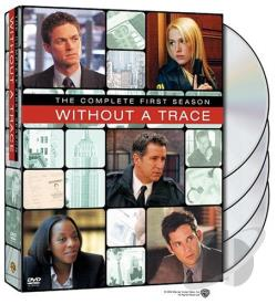 Without a Trace - The Complete First Season DVD Cover Art