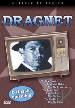 Dragnet - 8 Classic Episodes: Vol. 3 DVD Cover Art