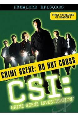 CSI: Crime Scene Investigation - The Premiere Episodes DVD Cover Art