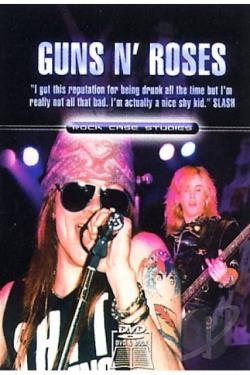 Guns N' Roses - Rock Case Studies DVD Cover Art