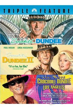 Crocodile Dundee Triple Feature DVD Cover Art