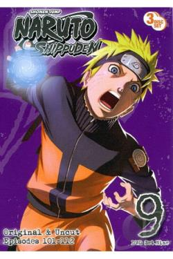 Naruto: Shippuden - Box Set 9 DVD Cover Art