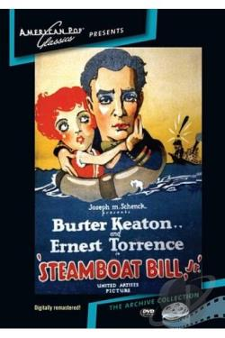 Steamboat Bill, Jr. DVD Cover Art