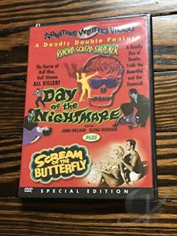 Day of the Nightmare/Scream of the Butterfly - Double Feature DVD Cover Art