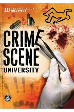 Crime Scene University DVD Cover Art