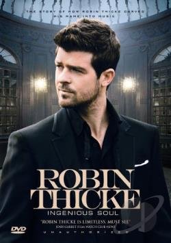 Robin Thicke: Ingenious Soul DVD Cover Art