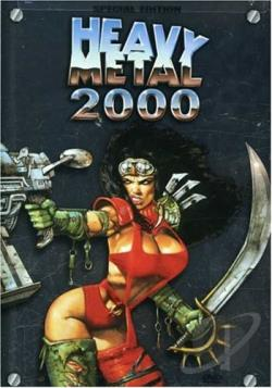 Heavy Metal 2000 DVD Cover Art