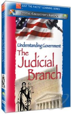 Just the Facts: The Judicial Branch of Government DVD Cover Art