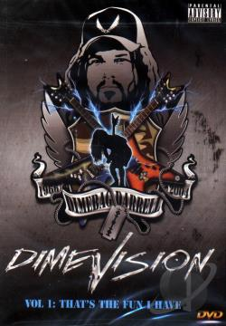 Dimebag Darrell - Dimevision 1: That's The Fun I Have DVD Cover Art