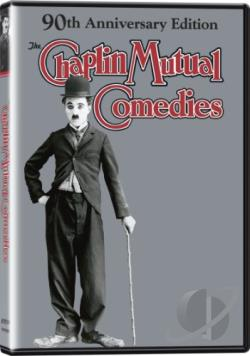 Charlie Chaplin Mutual Comedies DVD Cover Art