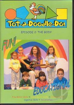 Tot-A-Doodle-Do Family & Friends DVD Cover Art