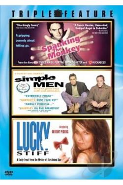 Spanking The Monkey/Simple Men/Lucky Stiff DVD Cover Art