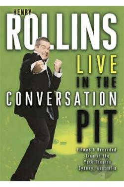 Henry Rollins - Live in the Conversation Pit DVD Cover Art