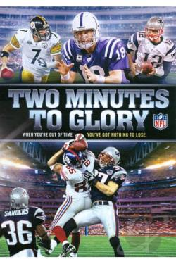 NFL: Two Minutes to Glory DVD Cover Art