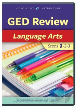 Ged Review:Language Arts DVD Cover Art