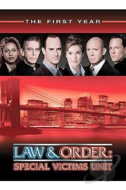 Law & Order: Special Victims Unit - The First Year DVD Cover Art