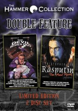 Devil Rides Out/Rasputin The Mad Monk 2-Pack DVD Cover Art