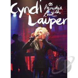 Cyndi Lauper: To Memphis with Love DVD Cover Art